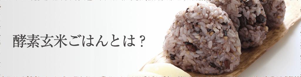 酵素玄米ごはんとは?